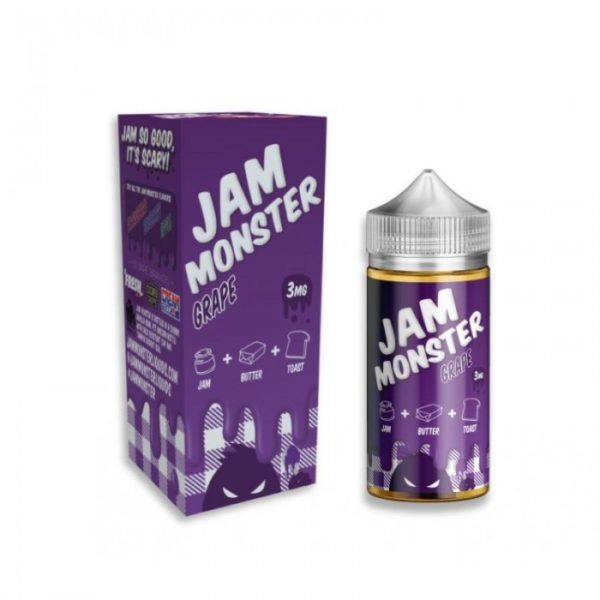 Saffire CBD jam monster Grape 3mg 100mL