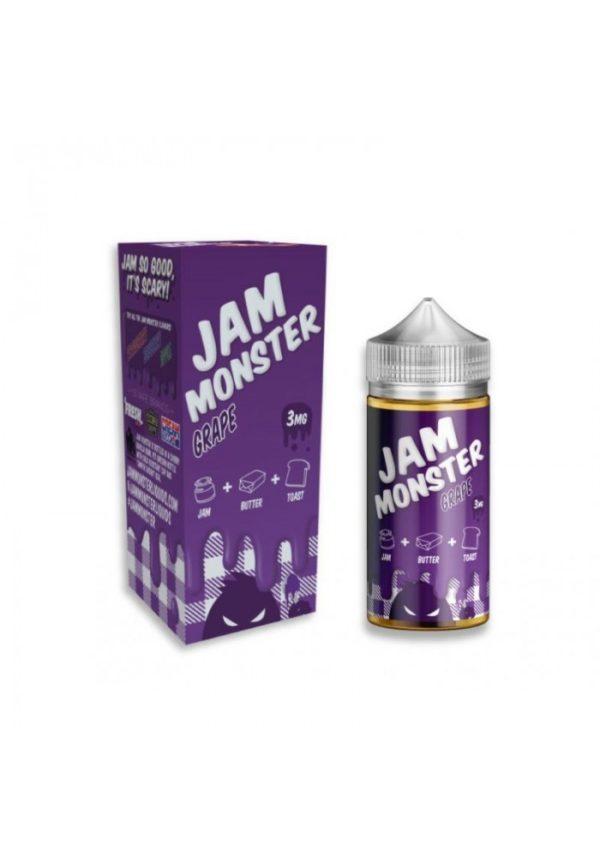 Saffire CBD jam monster Grape 3mg 100mL