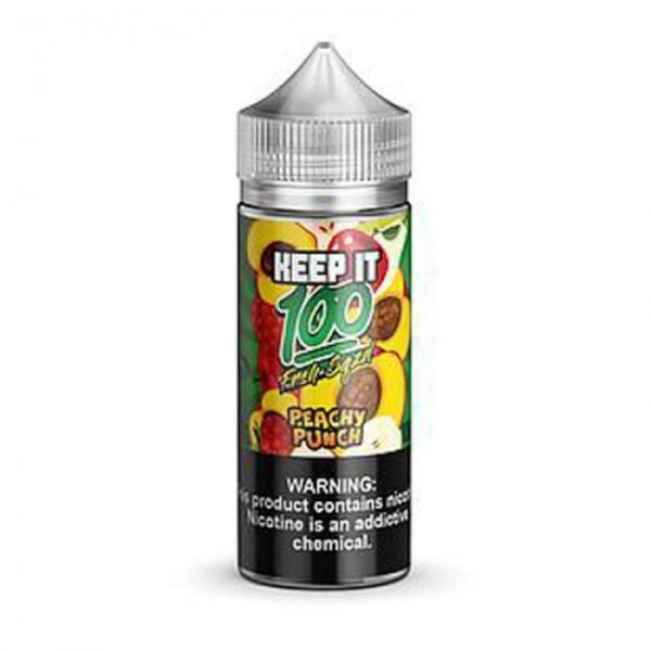 Saffire CBD keep it 100-Peachy Punch 100mL