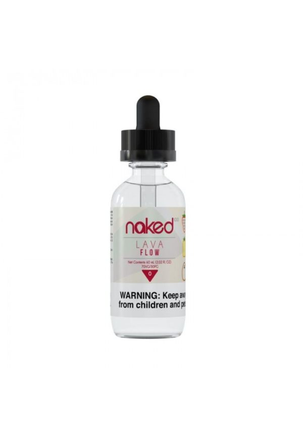 Saffire CBD naked pog Lava Flow Vape Juice 3mg 60Ml