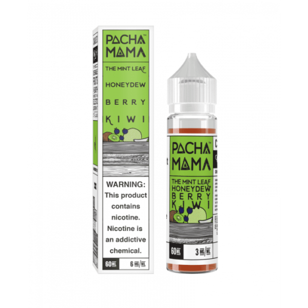 Saffire CBD pacha mama Mint Leaf Honeydew Berry Kiwi 3mg 60mL