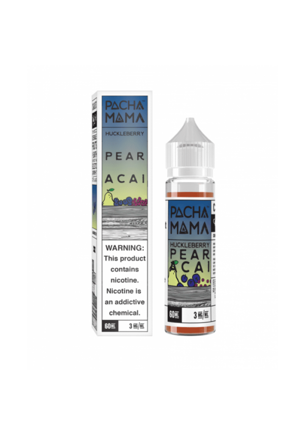 Saffire CBD pacha mama-pear acai Huckleberry 3mg 60mL