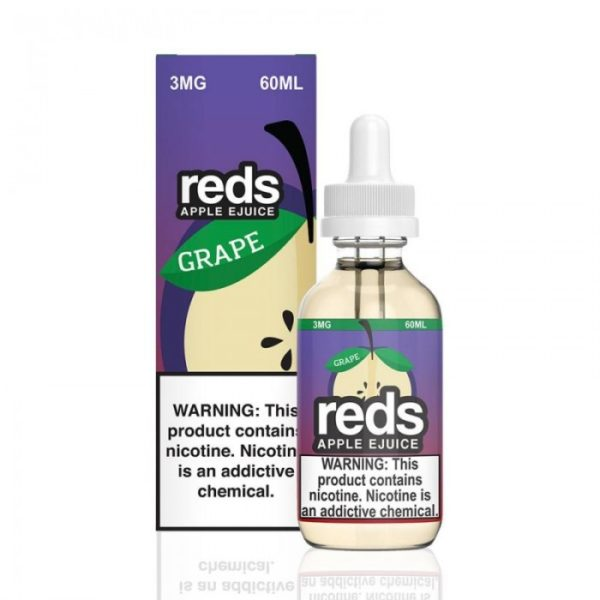 Saffire CBD reds apple Grape ejuice 3mg 60mL