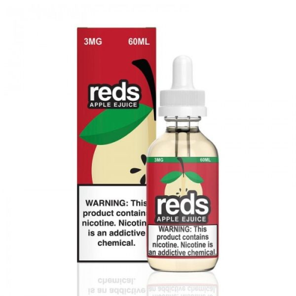 Saffire CBD reds apple ejuice 3mg 60mL