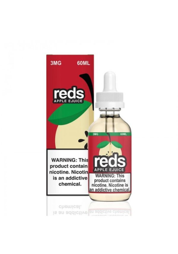 Saffire CBD reds apple ejuice 3mg 60mL