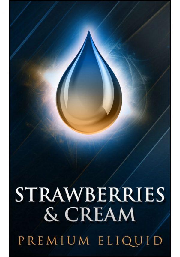 Saffire Vapor Strawberries and Cream e-liquid