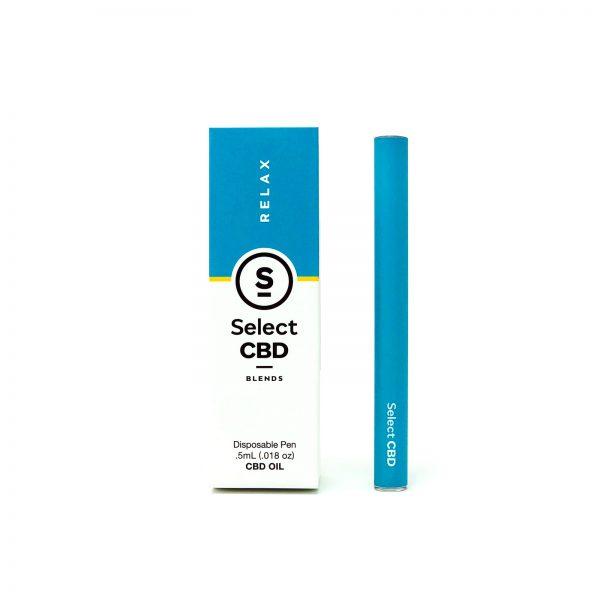 Saffire CBD Select-Relax-Lavendar